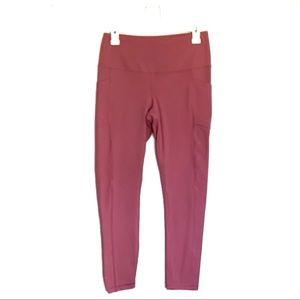Yogalicious Pink Leggings w Pockets   M